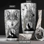Wolf Personalized NNR0801013Z Stainless Steel Tumbler