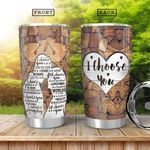 Wooden Couple KD4 HHA0801010Z Stainless Steel Tumbler