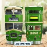 Green DD Bus Personalized KD2 MAL0801005Z Stainless Steel Tumbler