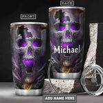 Skull Personalized HHA0801009Z Stainless Steel Tumbler