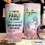 Unicorn KD4 Personalized THA0801013Z Stainless Steel Tumbler