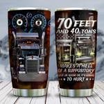 70 Feet Truck Driver KD2 HNL0801004Z Stainless Steel Tumbler