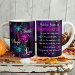 Butterfly Advice Faith KD2 MAL0801001Z Full Color Ceramic Mug