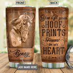 Personalized Horse Hoof Prints BGM0801002Z Stainless Steel Tumbler