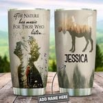 Moose Hiking Music Personalized KD2 HNL0601016Z Stainless Steel Tumbler