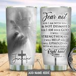 Personalized Faith Jesus Right Hand HLM0901002Z Stainless Steel Tumbler