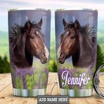 Personalized Bay Horse Face HLM0901001Z Stainless Steel Tumbler