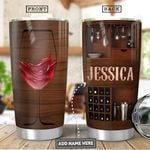 Wine Lover Personalized PYR0901015Z Stainless Steel Tumbler