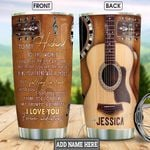 To My Guitarist Personalized NNR0901014Z Stainless Steel Tumbler