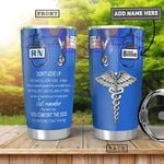 Nurse KD4 Personalized HHA0901005Z Stainless Steel Tumbler