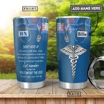 Nurse KD4 Personalized HHA0901006Z Stainless Steel Tumbler