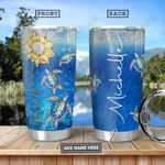 Turtle KD4 Personalized HHA0901008Z Stainless Steel Tumbler