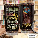 Black Queen Personalized THA0901011Z Stainless Steel Tumbler