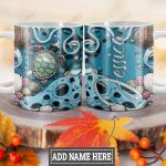 Personalized Ocean Turtle HLZ0901010Z Full Color Ceramic Mug