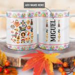 Personalized Mexico Sugar Skull TTZ0901009Z Full Color Ceramic Mug