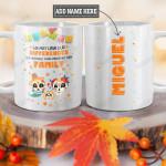 Personalized Mexico Family TTZ0901008Z Full Color Ceramic Mug
