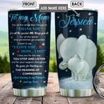 Personalized Elephant Daughter To Mom BGZ0901017Z Stainless Steel Tumbler