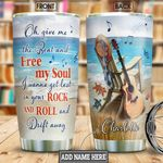 Acoustic Guitar Personalized NNR1111002 Stainless Steel Tumbler