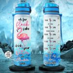 Flamingo Personalized NNR0901003Z Water Tracker Bottle