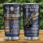 Electrician Hourly Rate KD2 HNL1101002Z Stainless Steel Tumbler