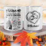 Personalized Wife To Husband BGZ1101022Z Full Color Ceramic Mug