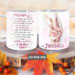 Personalized Love Mom Valentine BGZ1101012Z Full Color Ceramic Mug