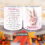 Personalized Love Mom BGZ1101011Z Full Color Ceramic Mug