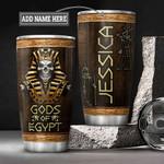 Personalized Pharaoh Gods Of Egypt HLZ1101028Z Stainless Steel Tumbler