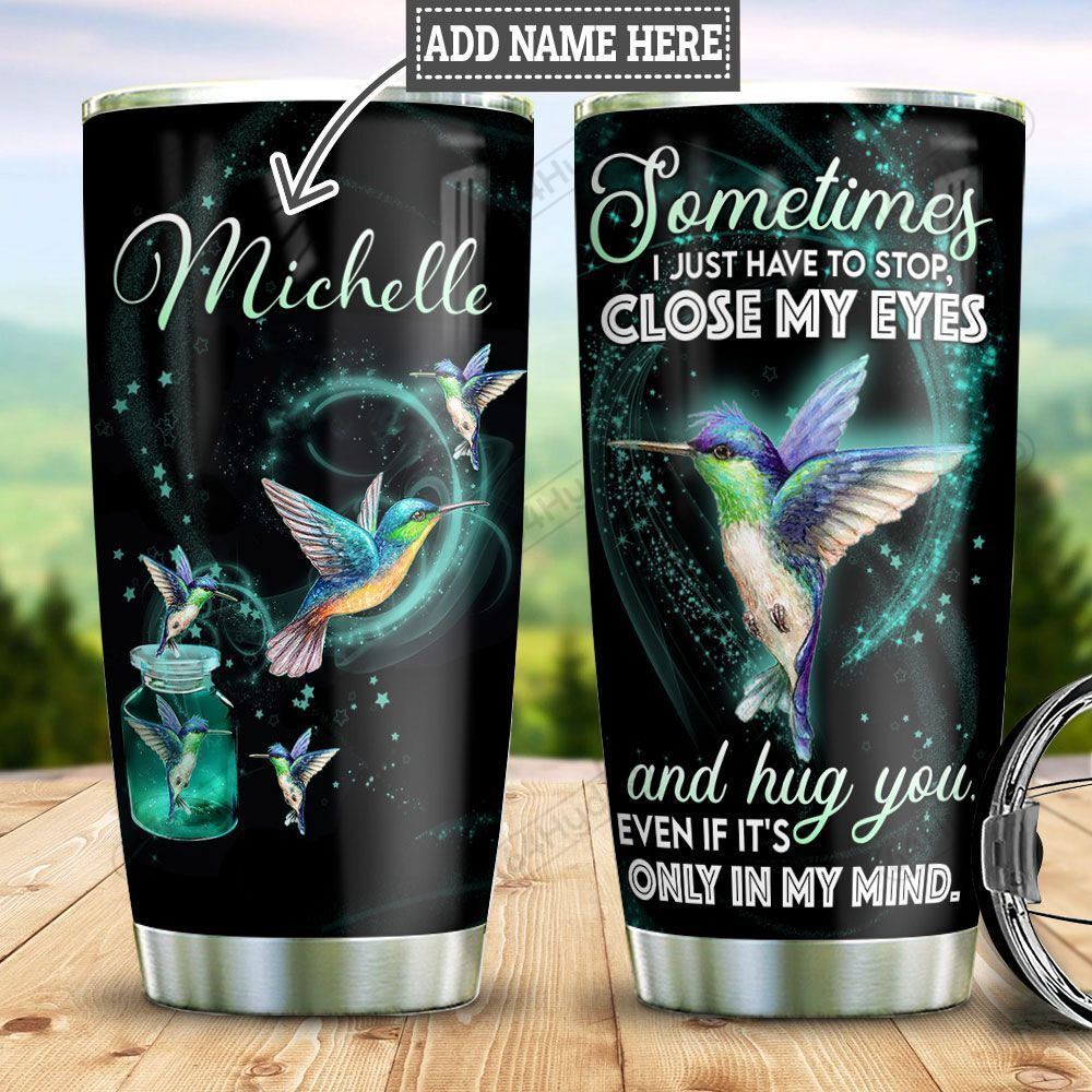 Personalized Hummingbird In My Mind TTZ1101025Z Stainless Steel Tumbler