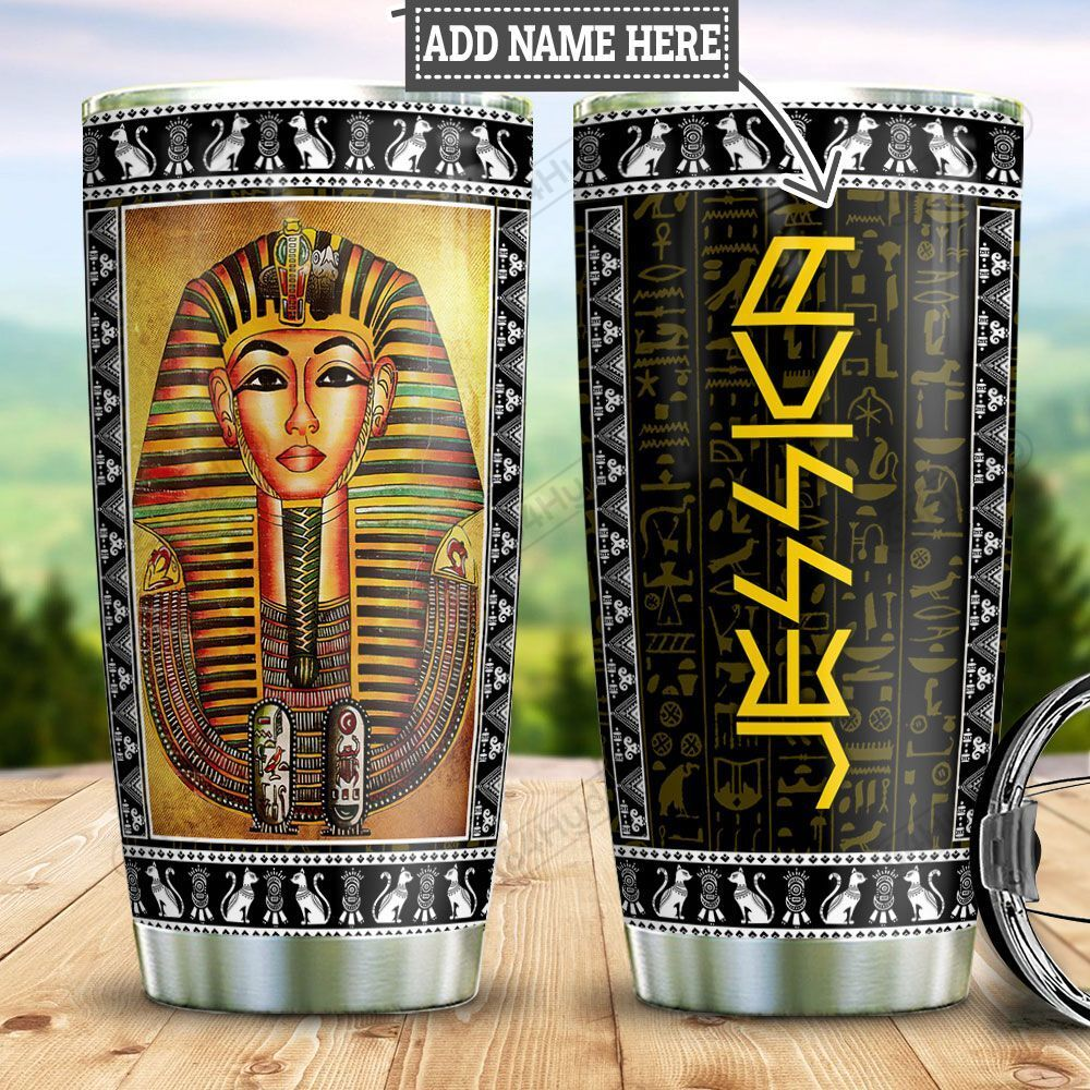 Personalized Ancient Egypt Pharaoh TTZ1101024Z Stainless Steel Tumbler