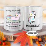 Personalized Cat Unicorn DNM1101003Z Full Color Ceramic Mug