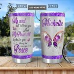 Butterfly KD4 Personalized HHA1101004Z Stainless Steel Tumbler