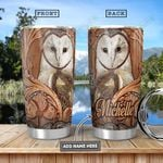 Owl Personalized HHA1101008Z Stainless Steel Tumbler