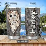 Owl Personalized HHA1101009Z Stainless Steel Tumbler