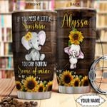Elephant KD4 Personalized THA1101014Z Stainless Steel Tumbler