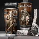 Armor of God Bible Personalized HHA1101001Z Stainless Steel Tumbler