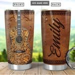 Guitar Personalized PYR1101012Z Stainless Steel Tumbler