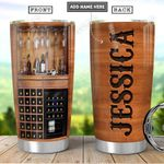 Wine Love Personalized PYR1101015Z Stainless Steel Tumbler