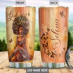 Black Women Personalized NNR1101007Z Stainless Steel Tumbler