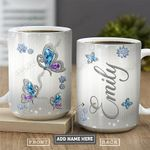 Butterfly Jewelry Personalized PYR1101002Z Full Color Ceramic Mug