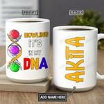 Bowling Personalized THA1201013Z Full Color Ceramic Mug