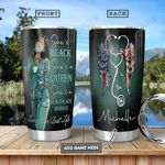 Black Nurse KD4 Personalized HHA1201003Z Stainless Steel Tumbler