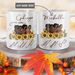 Personalized Black Women Faith TTZ1201003Z Full Color Ceramic Mug