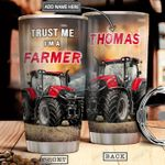 Farmer Personalized NNR1201006Z Stainless Steel Tumbler