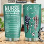 Nurse Facts Personalized PYR1201007Z Stainless Steel Tumbler