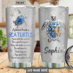Turtle Advice Personalized NNR1201010Z Stainless Steel Tumbler