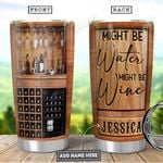 Wine Love Personalized PYR1201011Z Stainless Steel Tumbler