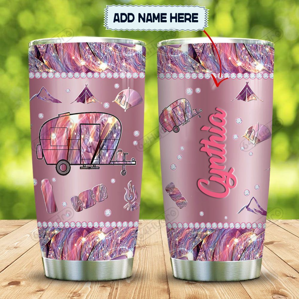 Metal Style Jewelry Camping Personalized KD2 MAL1201010Z Stainless Steel Tumbler
