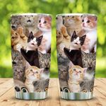 3D Picture Funny Cat KD2 MAL1201003Z Stainless Steel Tumbler