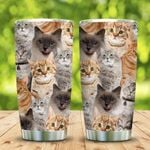 3D Picture Cats KD2 MAL1201002Z Stainless Steel Tumbler